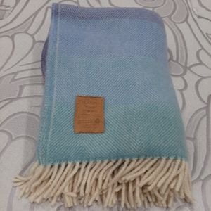 Vintage wool throw blanket Eaton's 47 by 60 inches